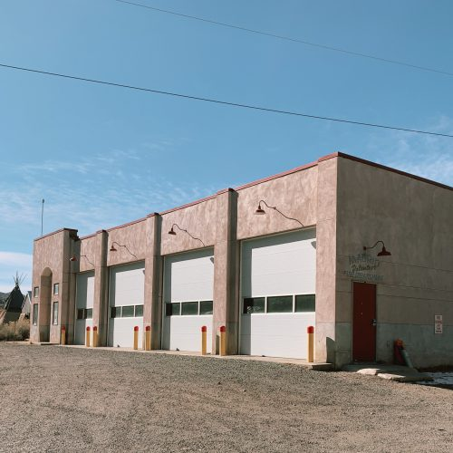 firehouse in madrid, new mexico