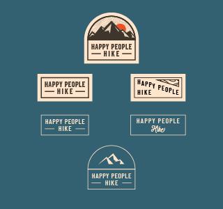 happy people hike artboard 2