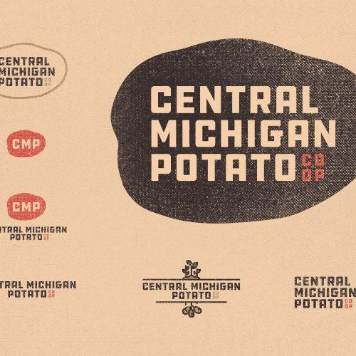 central michigan potato logos