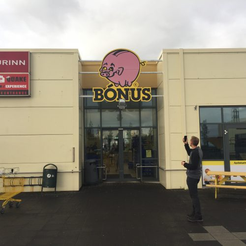 bonus supermarket in iceland