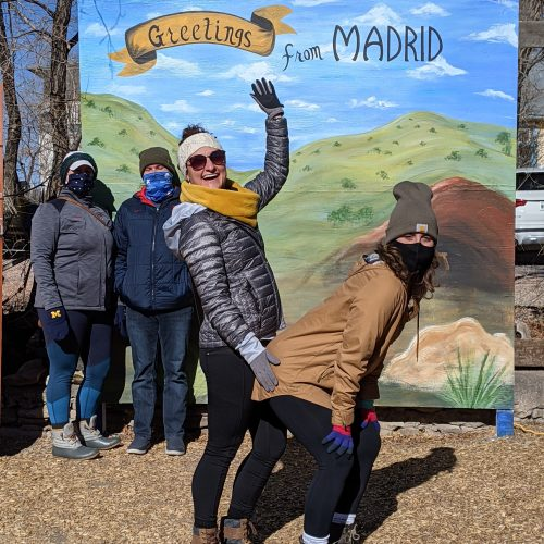 recreating the schitt's creek sign