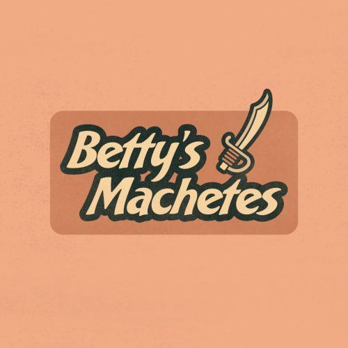 made up logo for betty's machetes