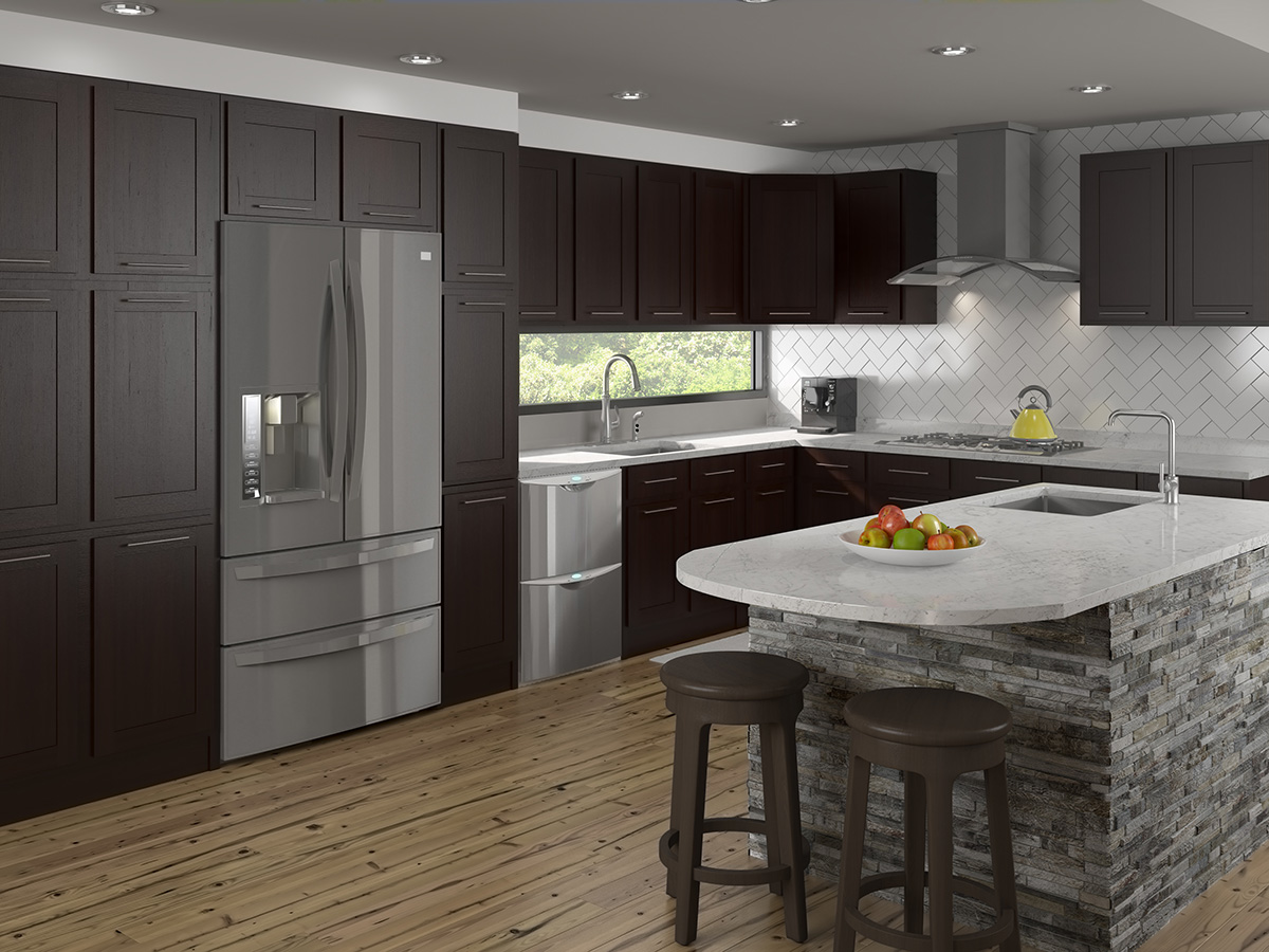 Aview cabinetry rendering
