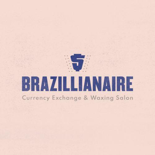 made up logo for brazillionaire