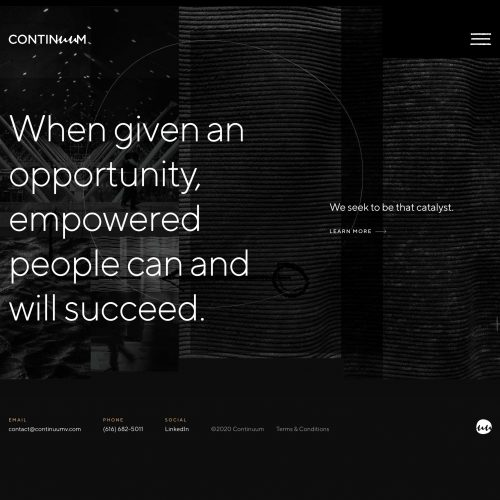 continuum ventures home page