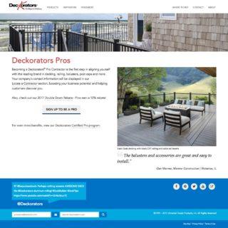 decorators pro site