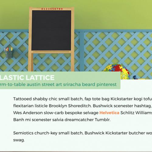 dimensions lattice website
