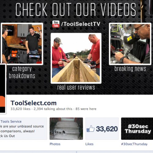facebook page for toolselect