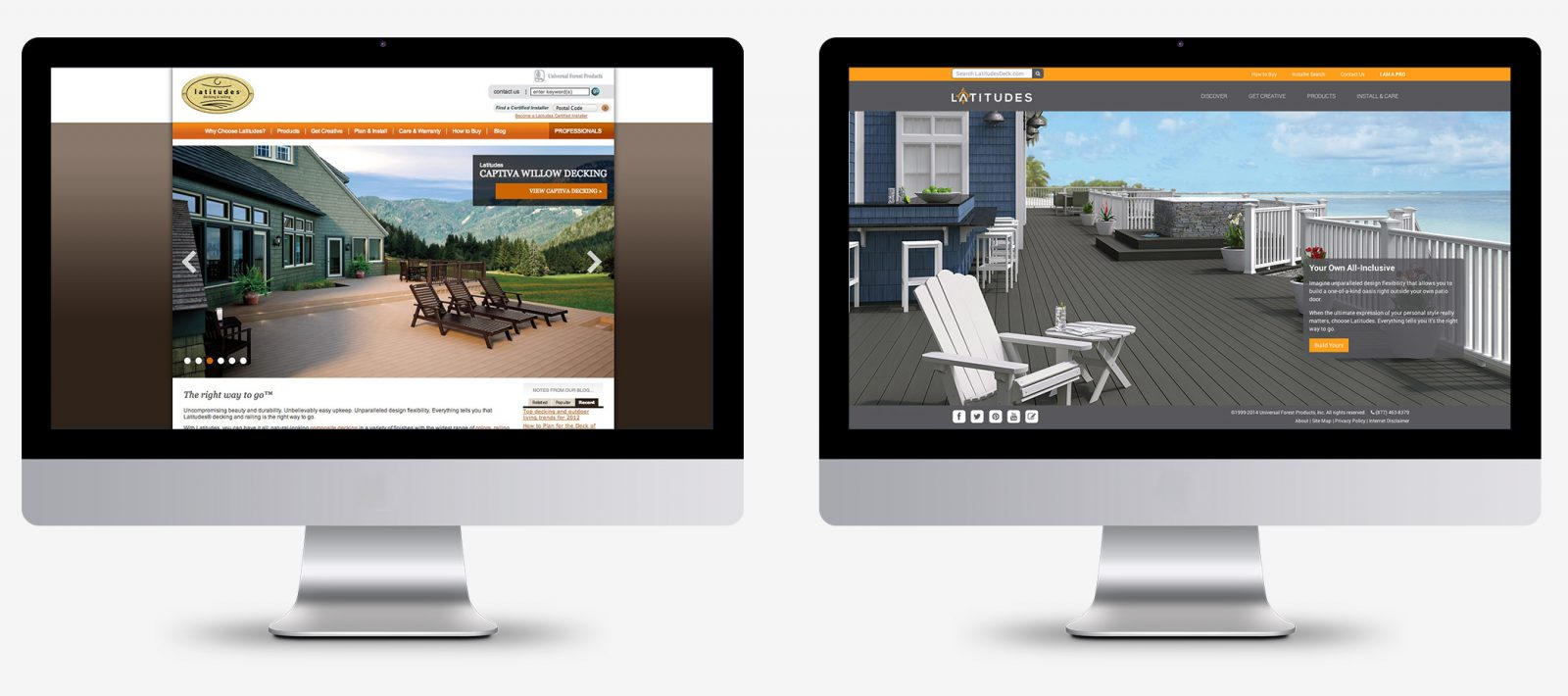 latitudes website before and after