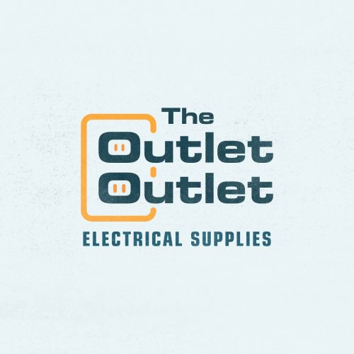 made up logo for the outlet outlet