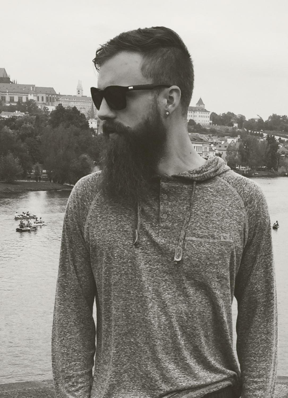 myself in prague, czech republic