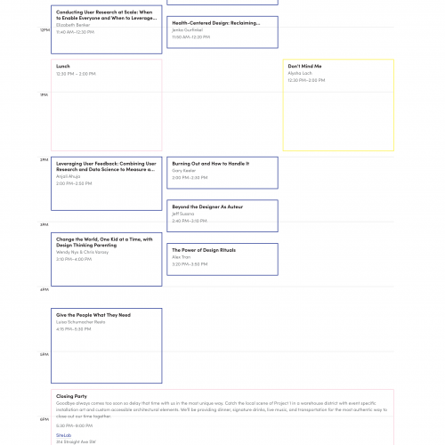schedule-saturday