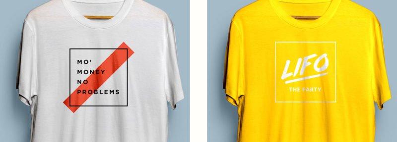unused t-shirt designs