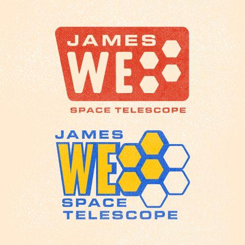 james webb space telescope logo options
